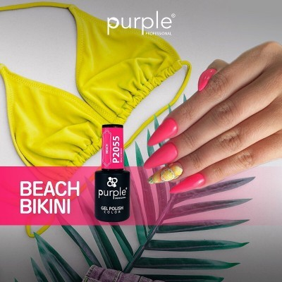 Verniz Gel PURPLE P2055 – Beach Bikini