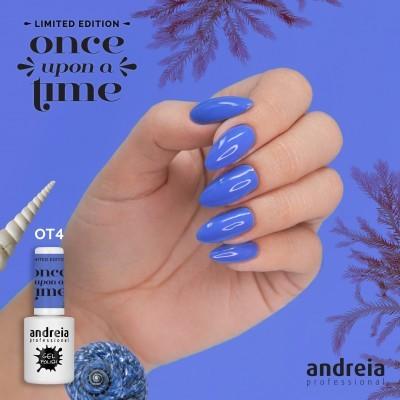 Verniz Gel Andreia OT4 – A Pequena Sereia: Azul Oceano