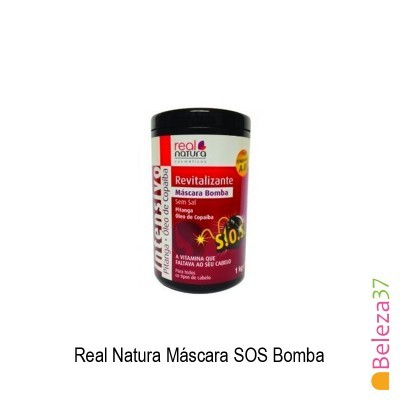 Máscara Real Natura - SOS Bomba Retinol / Pantenol 1Kg