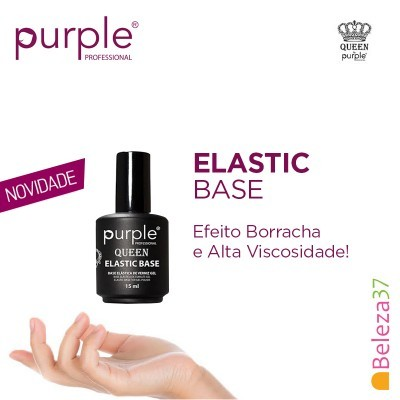 Elastic Base - Mega Base para Verniz Gel da PURPLE