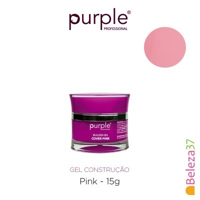 Gel Construtor Purple Gel Cover Pink 15g