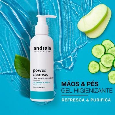 Power Cleanser Andreia - Gel Higienizador de mãos e pés 200ml