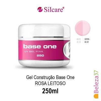 Gel de Construção Base One Pink – Rosa Leitoso 250ml