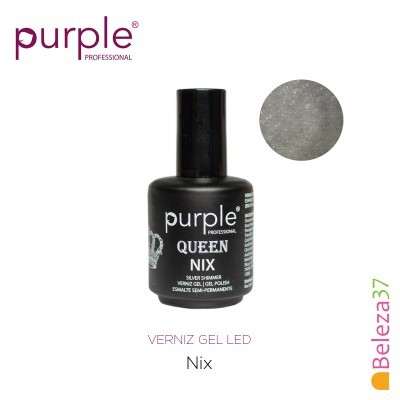 Verniz Gel UV/LED 15ml PURPLE 635 – NIX (Linha Queen)