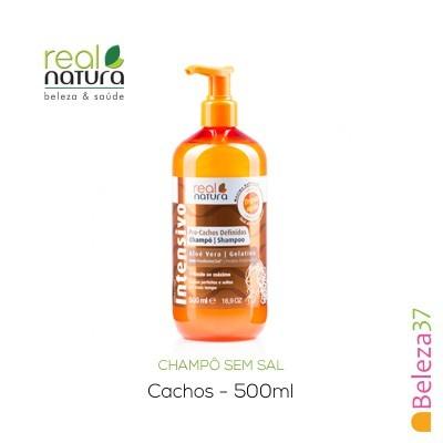 Champô Sem Sal Real Natura – Cachos Definidos 500ml