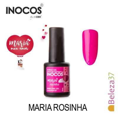 Verniz Gel Inocos – Maria Rosinha 10ml