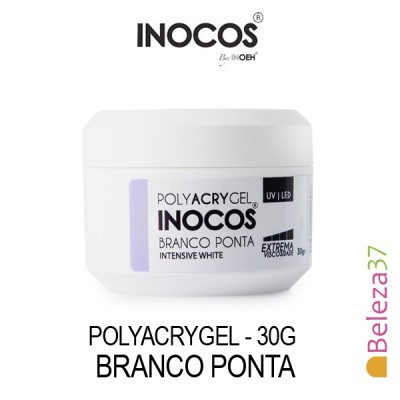 Polyacrygel Inocos - Branco Ponta 30g