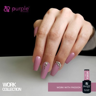 Verniz Gel PURPLE P2024 – Work With Passion