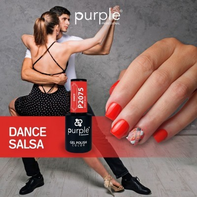 Verniz Gel PURPLE P2075 – Dance Salsa