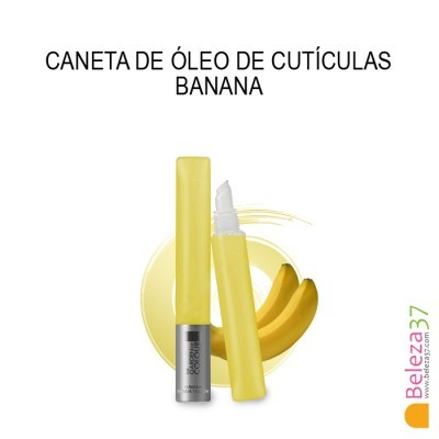Caneta de Óleo de Cutículas - Aroma a Banana