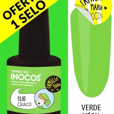 Verniz Gel Inocos – 197 - Filho Quico (Verde Néon)