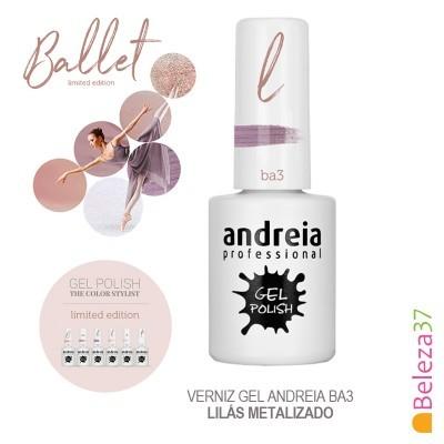 Verniz Gel Andreia Ba3 – Lilás Metalizado