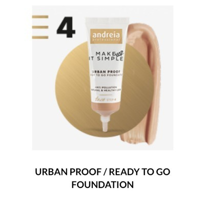 Andreia Face 4 - URBAN PROOF / READY TO GO FOUNDATION