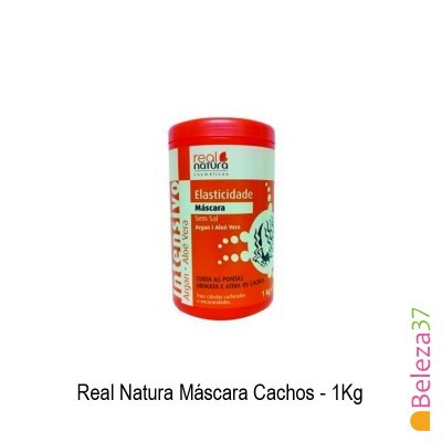 Máscara Real Natura - Cachos 1Kg