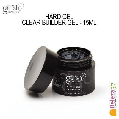 GELISH HARD GEL CLEAR BUILDER GEL (15ml)