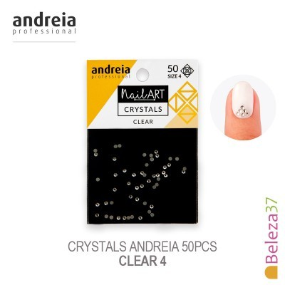 Crystals Andreia 50pcs - Clear 4
