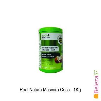 Máscara Real Natura - Côco 1Kg