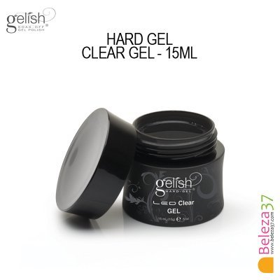 GELISH HARD GEL CLEAR GEL - 15ml