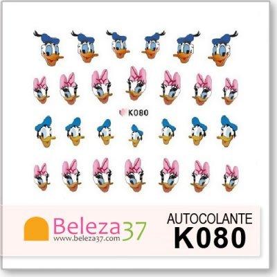 Autocolantes da Disney com o Pato Donald e a Margarida (K080)