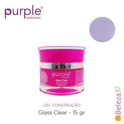 Gel Construtor Purple Glass Clear – Transparente 15g