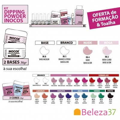 Kit Dipping Powder Inocos