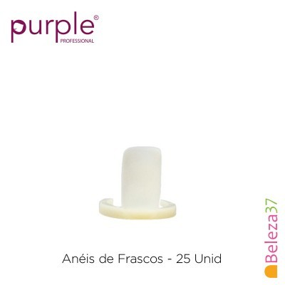 Anéis de Frascos Purple - 25 Unidades