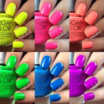 Neon Lights Summer - Verniz MORGAN TAYLOR