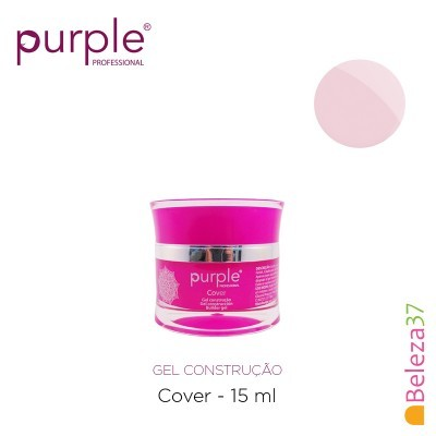 Gel Construtor Purple Gel Cover – Gel de Camuflagem 15g