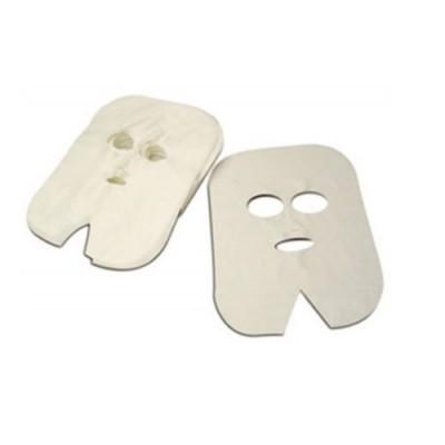 Máscara Facial TNT Descartável para Cabeleireiro e Estética