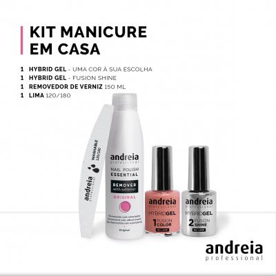 Kit Manicure Andreia em Sua Casa