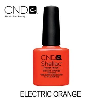 CND Shellac – Electric Orange