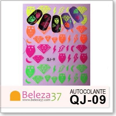 Autocolantes Neon 3D QJ-09