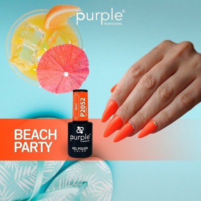 Verniz Gel PURPLE P2052 – Beach Party