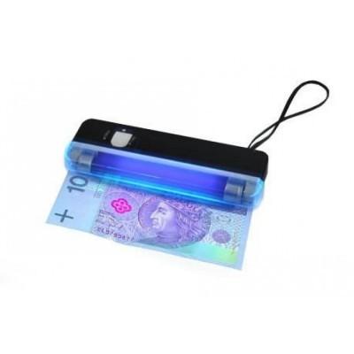 Detetor de notas falsas com lâmpada UV