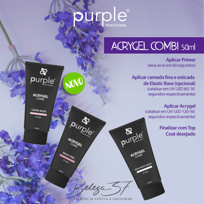 Combi Acrygel Purple