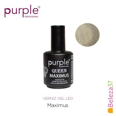 Verniz Gel UV/LED 15ml PURPLE 633 – MAXIMUS (Linha Queen)