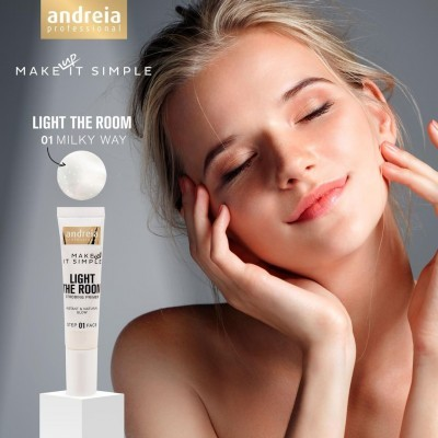 Andreia Face 1 - LIGHT THE ROOM - Strobing Primer - Cor 01 - Milky Way