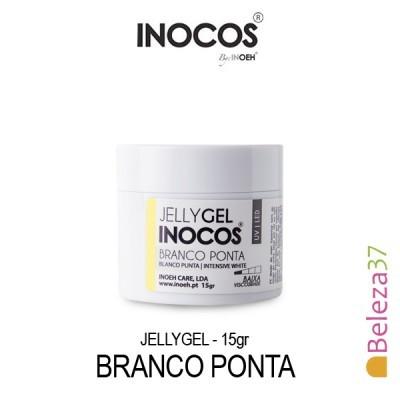 Jellygel Inocos - Gel Construção Branco Ponta 15g