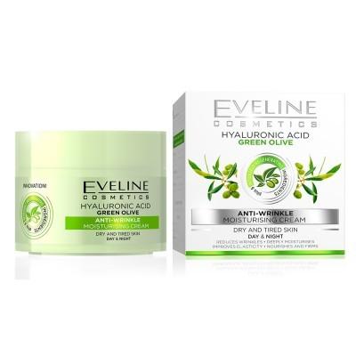 Creme de Rosto Eveline Green Olive Anti Wrinke 50ml