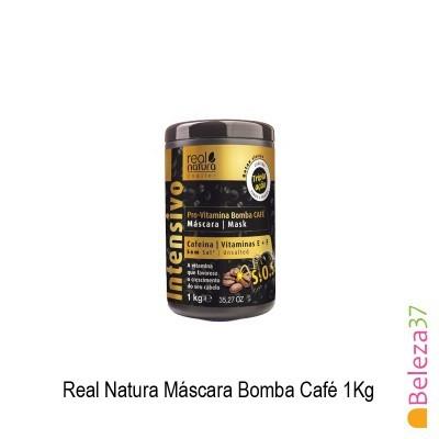 Máscara Real Natura - Bomba Café 1Kg