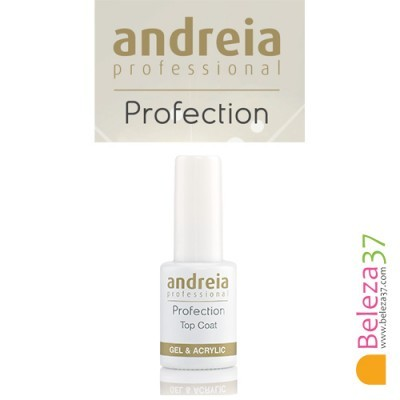 Top Coat Para Gel e Acrílico com Goma Andreia Profection