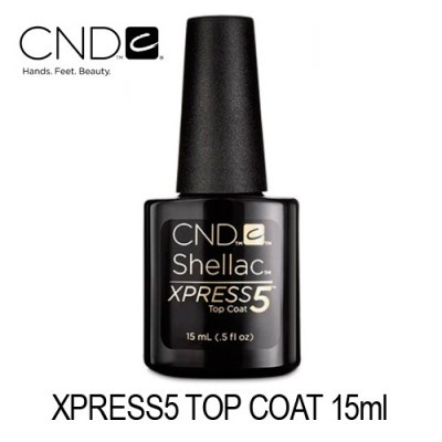 CND SHELLAC Xpress5 Top Coat 15ml