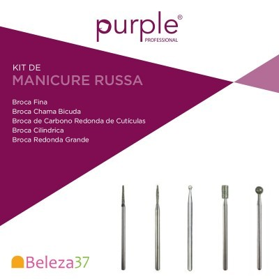 Kit Brocas  Manicure Russa
