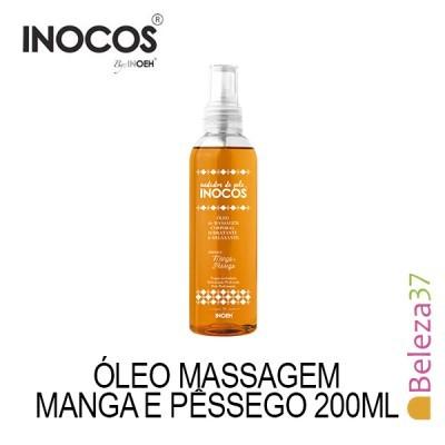 Óleo de Massagem Inocos - Aroma a Manga e Pêssego 200ml