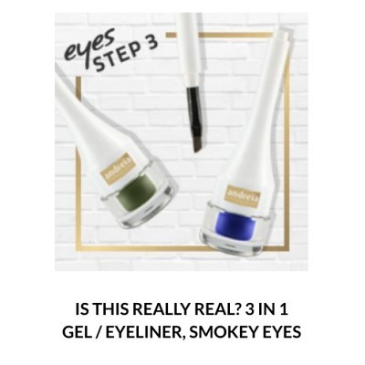 Andreia Eyes 3 - IS THIS REALLY REAL? 3 in 1 Gel