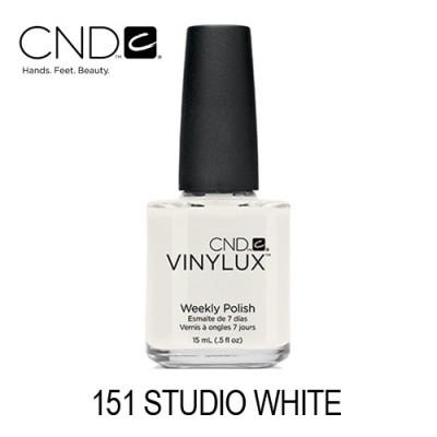 CND Vinylux – #151 Studio White (Branco Semi-Opaco)