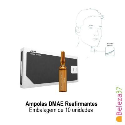 Ampolas DMAE Reafirmantes - Embalagem de 10 unidades