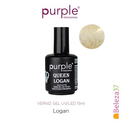 Verniz Gel UV/LED 15ml PURPLE 631 – LOGAN (Linha Queen)