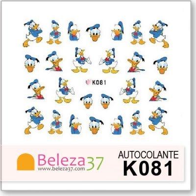 Autocolantes da Disney com o Pato Donald (K081)