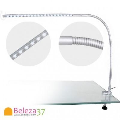 Candeeiro LED de braço amovível